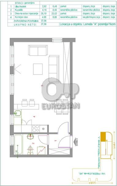 Stan ŽARKOVO 51645 EUR