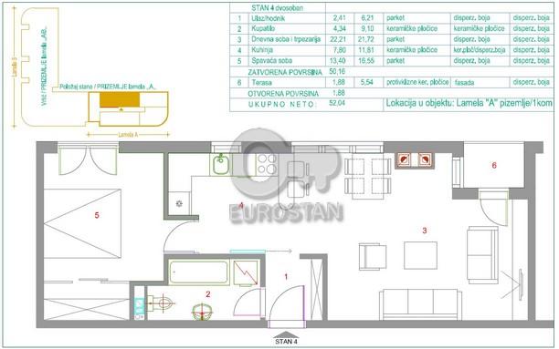 Stan ŽARKOVO 62968 EUR