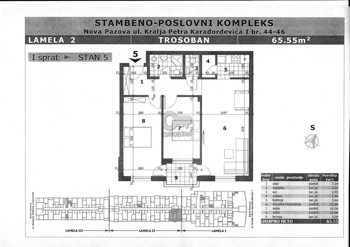 Stan NOVA PAZOVA 51000 EUR