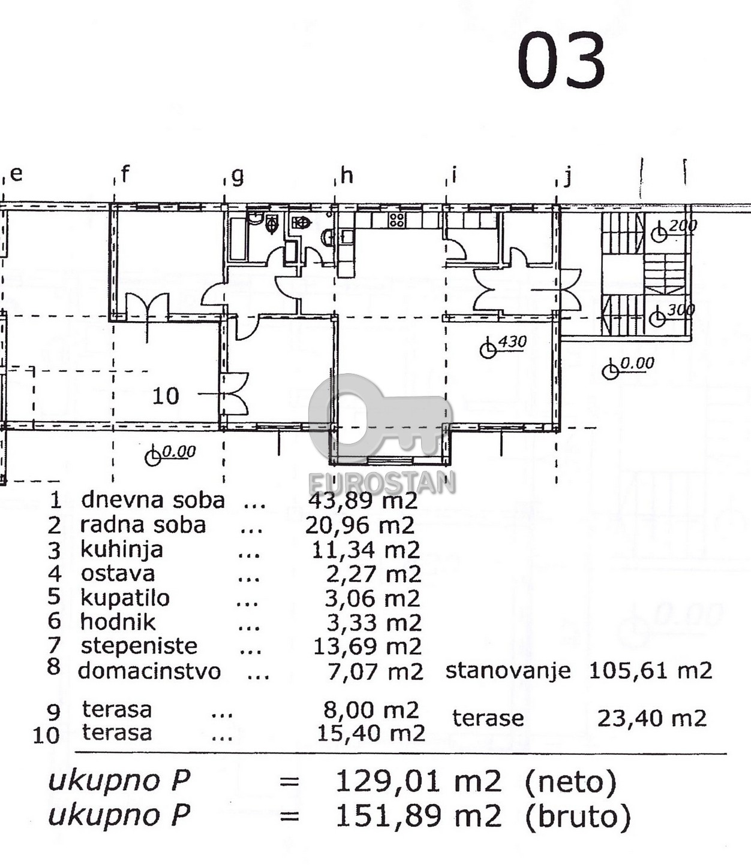 Poslovni prostor LEDINE 700 EUR